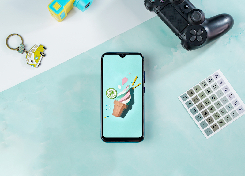 Điện thoại smartphone Vsmart Joy 2+ | Màn hình giọt nước