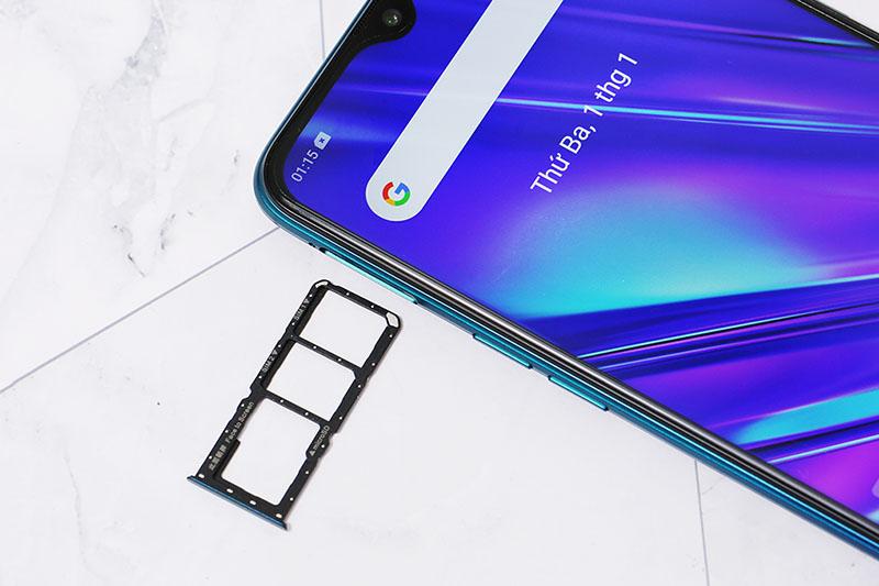 Điện thoại Realme 5 Pro | Hỗ trợ 2 sim 2 sóng cùng thẻ nhớ Micro SD