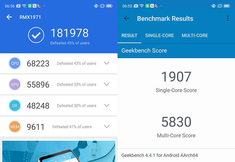 Điện thoại Realme 5 Pro | Điểm hiệu năng Antutu Benchmark