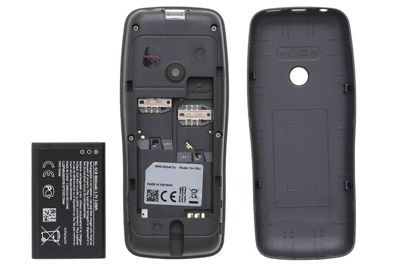Nokia 110 (2019) | Thời lượng pin ấn tượng