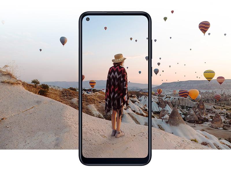Điện thoại Samsung Galaxy M11 | Thiết kế tràn viền cao cấp
