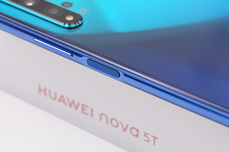 Điện thoại Huawei Nova 5T | Cảm biến vân tay