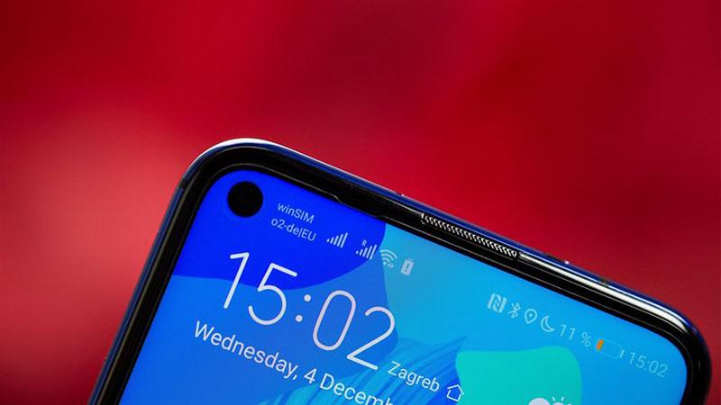 Điện thoại Huawei Nova 5T | Camera selfie