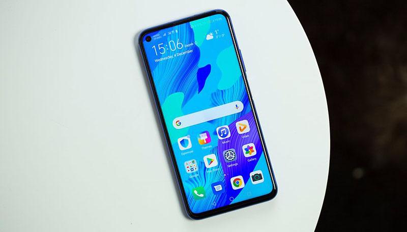 Điện thoại Huawei Nova 5T   Hiệu năng mạnh mẽ