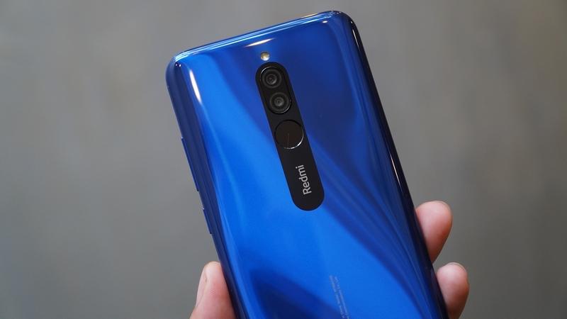 Điện thoại Xiaomi Redmi 8 32GB | Camera sau