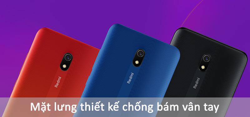 Xiaomi Redmi 8A | Mặt lưng Aura Wave Grip 3 màu sắc