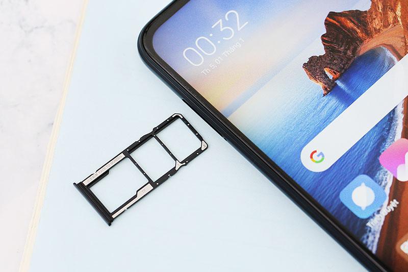Xiaomi Redmi 8A | Hỗ trợ 2 sim 2 sóng cùng thẻ nhớ Mico SD