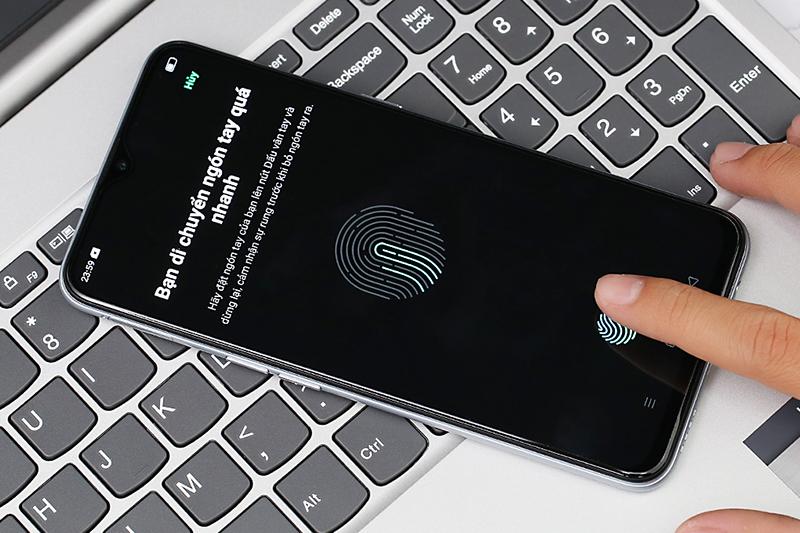 Điện thoại Realme XT | Cảm biến vân tay