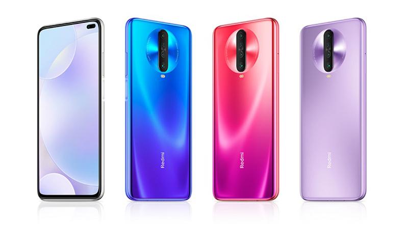 Điện thoại Xiaomi Redmi K30 nhiều màu sắc để lựa chọn