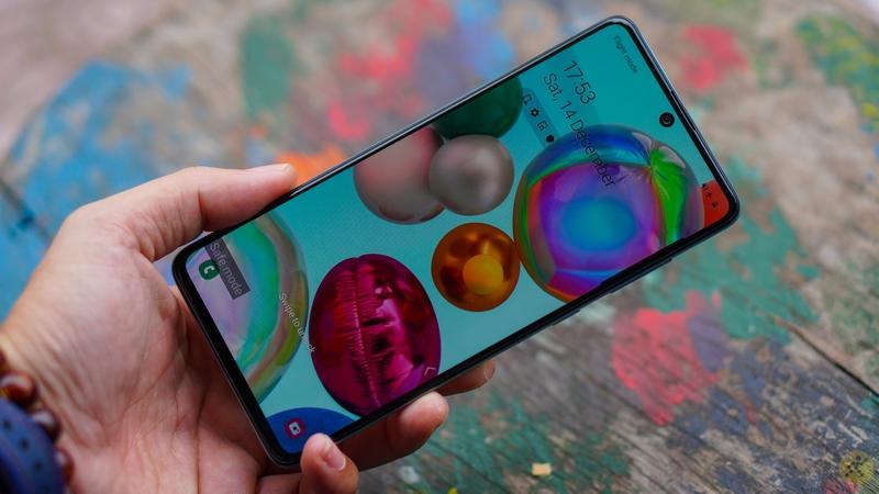 Samsung Galaxy A71 | Kích thước màn hình