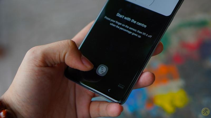 Samsung Galaxy A71 | Vân tay