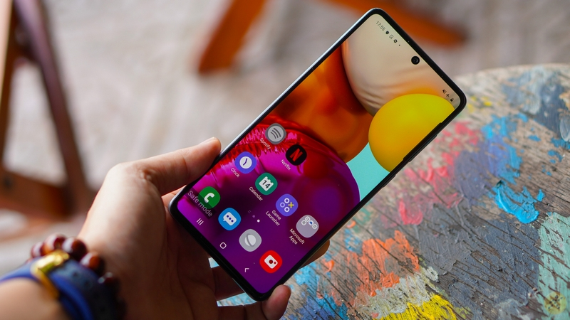 Samsung Galaxy A71 | Hiệu năng
