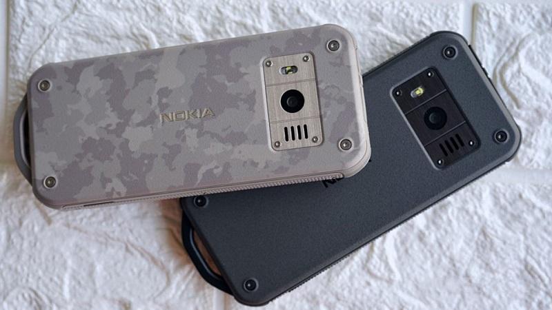 Điện thoại Nokia 800 Tough   Thiết kế