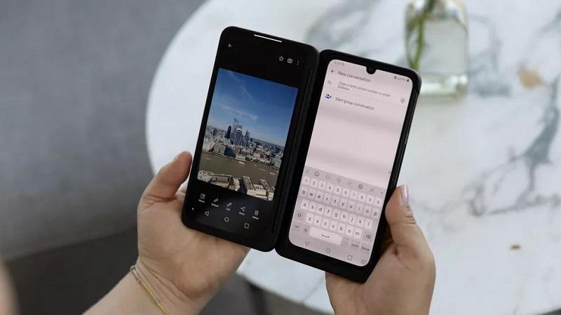 Điện thoại LG G8x ThinQ | Màn hình