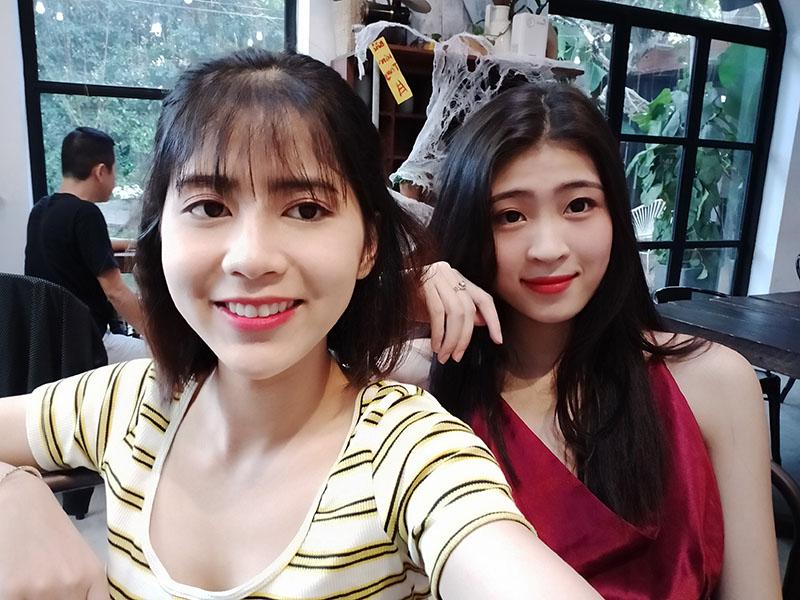 Điện thoại OPPO A5 (2020) | Ảnh selfie