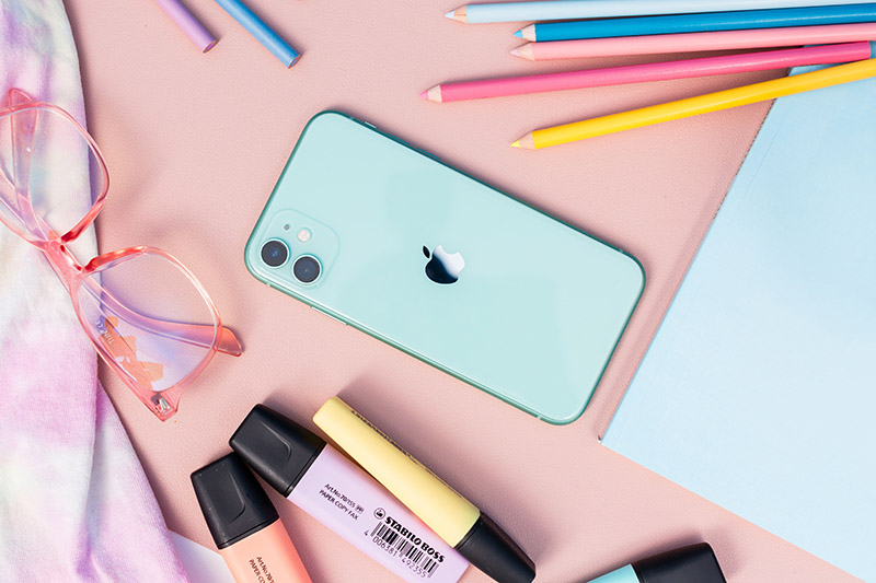 iPhone 11 64GB ទំហំថ្ម 3110