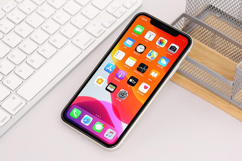 Điện thoại iPhone 11 256GB | Giao diện màn hình chính