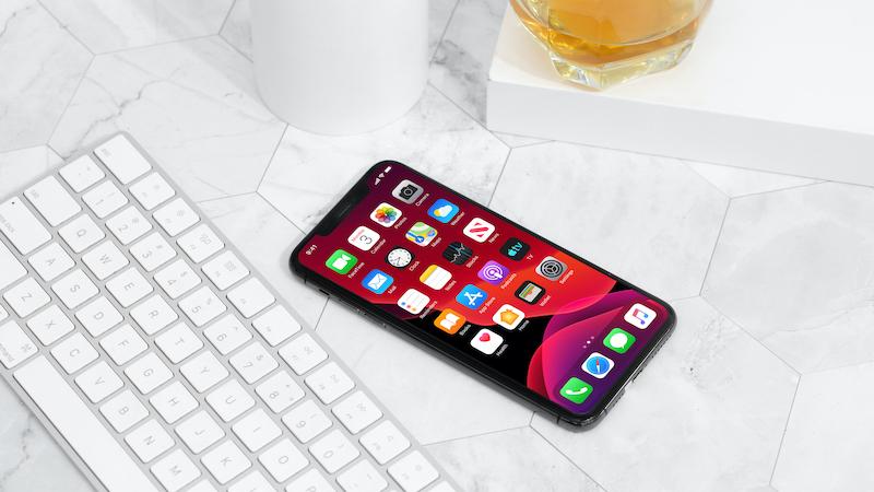 Điện thoại iPhone 11 Pro Max 512GB | Giao diện màn hình chính