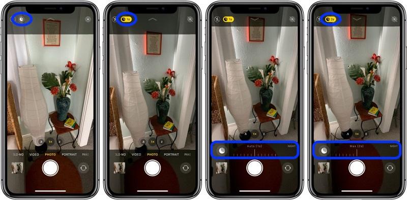 Điện thoại iPhone 11 Pro Max 512GB | Chế độ Night Mode mới