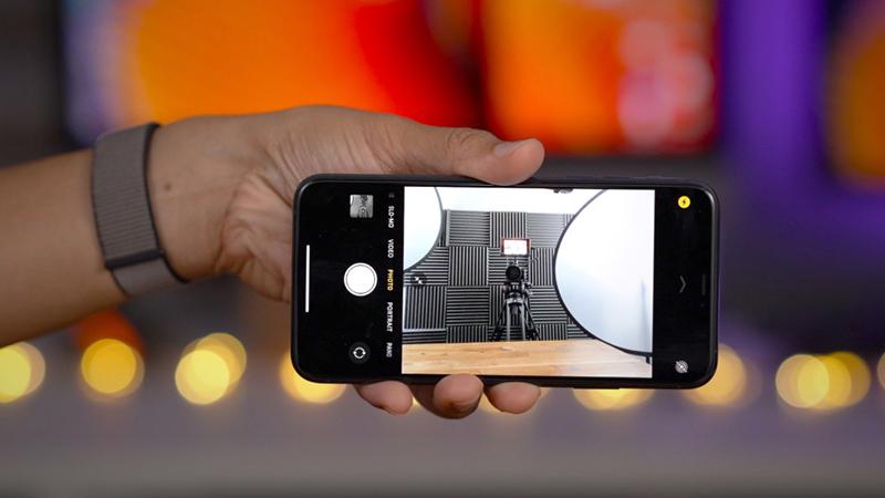 Điện thoại iPhone 11 Pro 256GB | Giao diện chụp ảnh