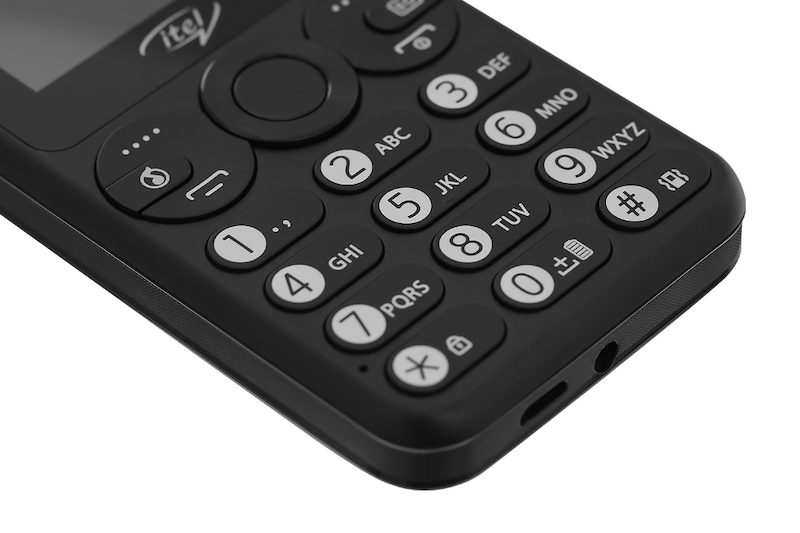 Điện thoại cơ bản Itel it5092   Phím bấm trên máy