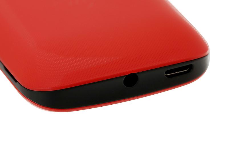 Điện thoại nghe gọi Itel Value 100 | Trang bị cổng sạc Micro USB