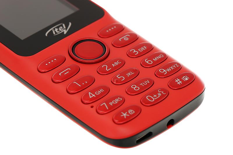 Điện thoại nghe gọi Itel Value 100 | Thiết kế bàn phím