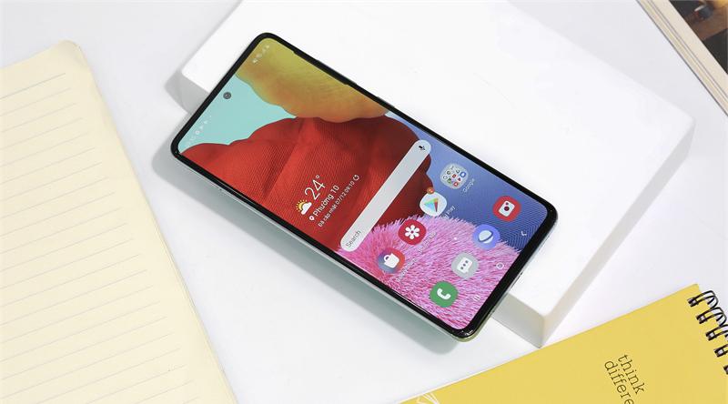 Điện thoại Samsung Galaxy A51 - Công nghệ sạc nhanh siêu tốc