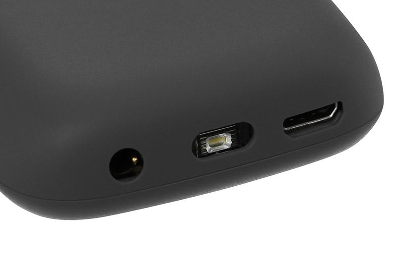 Điện thoại Nokia 105 Single SIM (2019) | Cổng sạc Micro USB và đèn LED tiện lợi