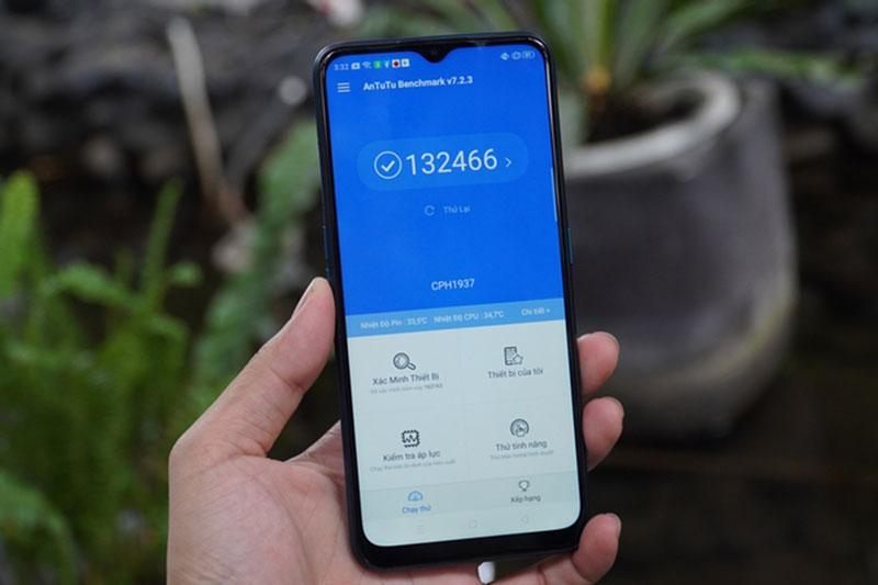 Điện thoại OPPO A5 (2020) 128GB | Điểm hiệu năng Antutu Benchmark