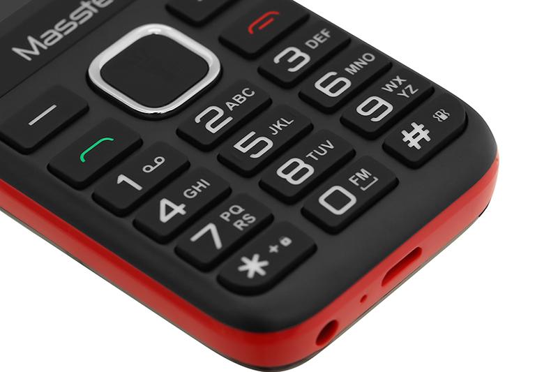 Điện thoại Masstel IZI 112 | Bàn phím T9 dễ dàng thao tác