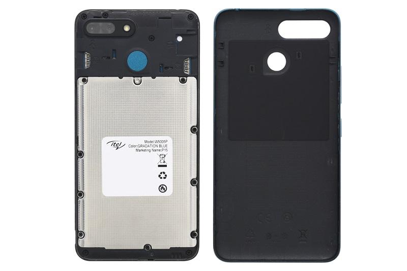 Điện thoại Itel P15 | Thiết kế mặt lưng có thể tháo rời