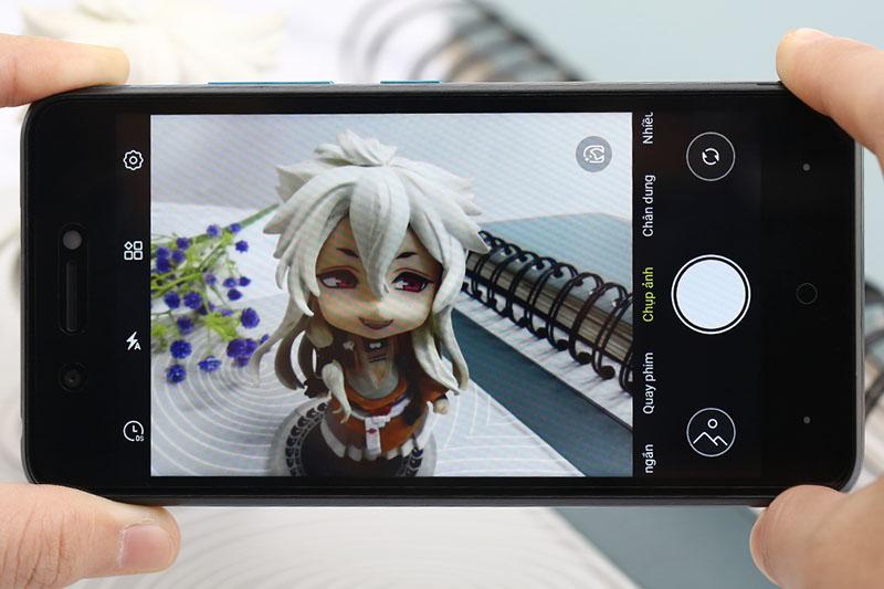 Điện thoại Itel P15 | Giao diện camera
