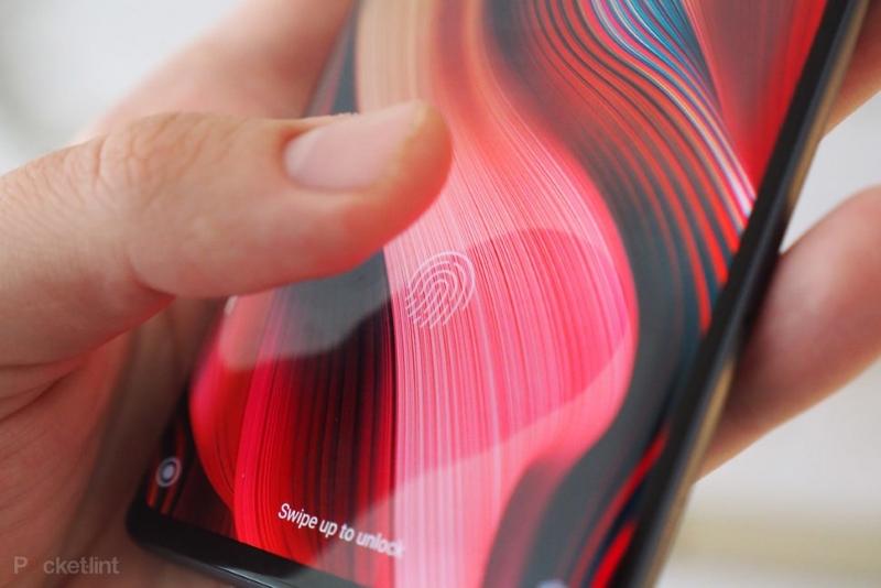 Xiaomi Mi Note 10   Cảm biến vân tay trong màn hình