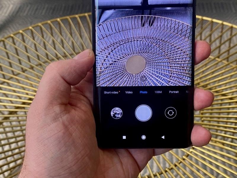 Xiaomi Mi Note 10   Giao diện camera độ phân giải 108MP