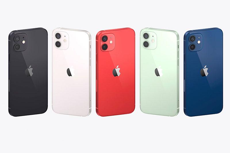 Sở hữu loạt gam màu cá tính | iPhone 12