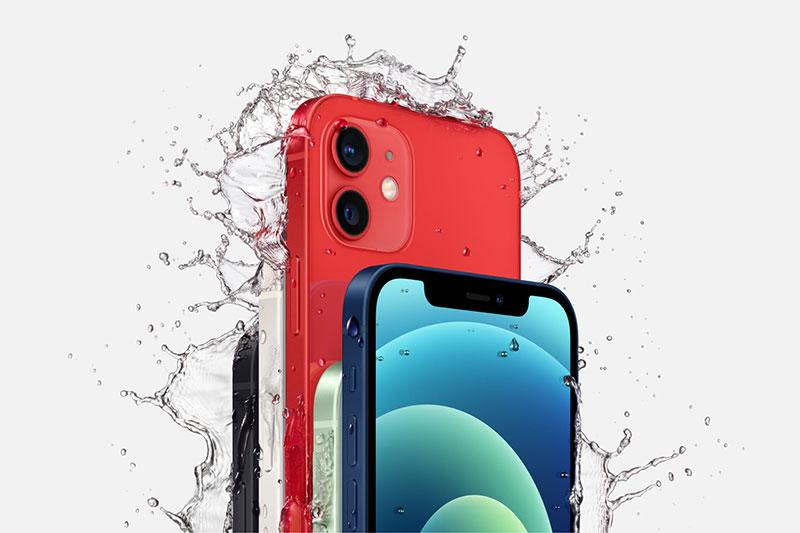 Kháng nước bụi chuẩn IP68 | iPhone 12