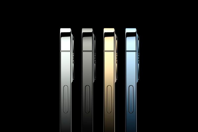 Phần khung viền sử dụng chất liệu thép không gỉ cao cấp | iPhone 12 Pro 128 GB