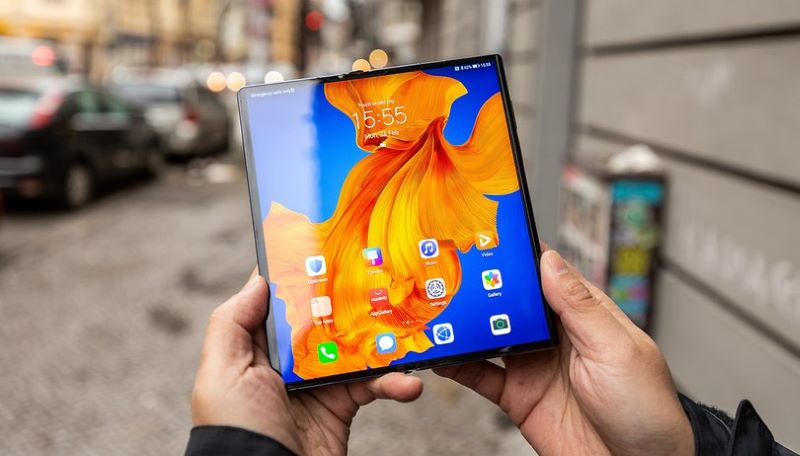 Giao diện Android trên Mate Xs