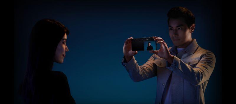 Chụp hình với camera selfie trên Mate Xs