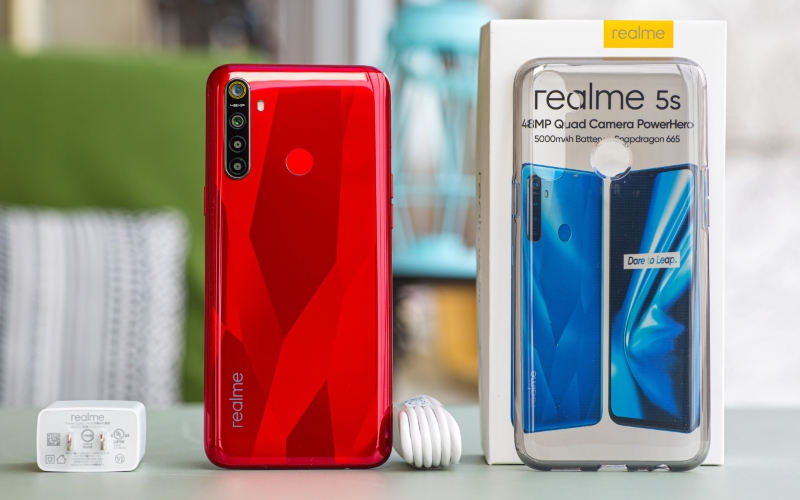 Realme 5s 4GB/64GB Pin khủng 5000 mAh