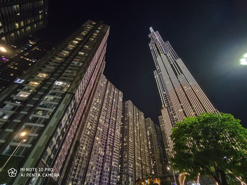 Xiaomi Mi Note 10 Pro   Ảnh chụp ban đêm bằng camera sau