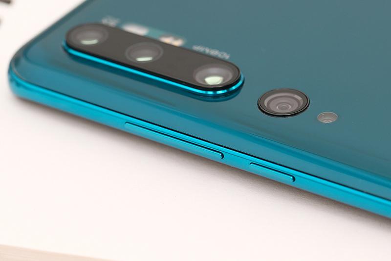 Xiaomi Mi Note 10 Pro   Phần cạnh viền được thiết kế mỏng