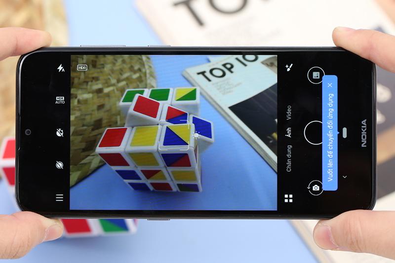 Điện thoại Nokia 2.3 | Giao diện chup ảnh