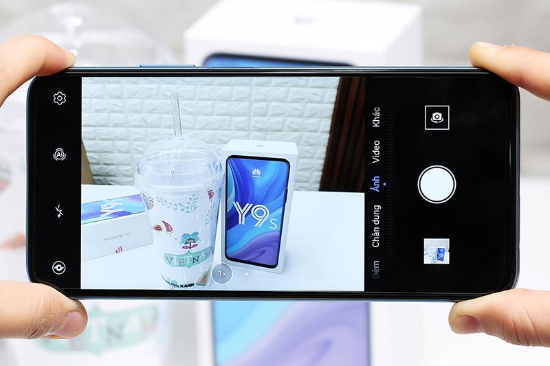 Điện thoại Huawei Y9s | Giao diện chụp ảnh