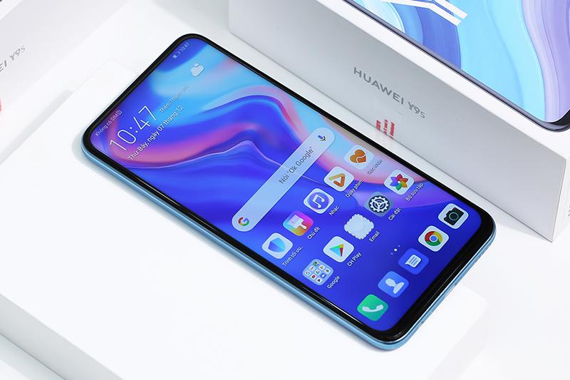 Điện thoại Huawei Y9s | Thiết kế màn hình tràn viền