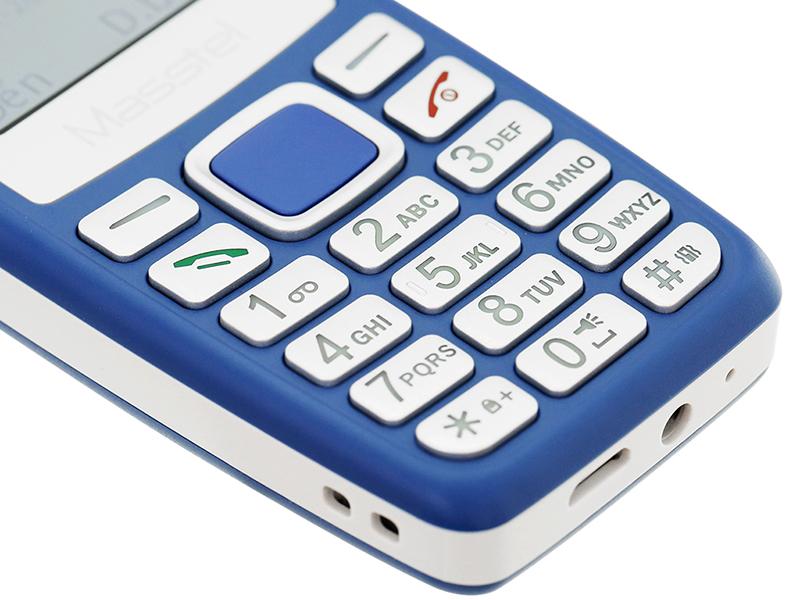 Masstel Izi 120   Bàn phím T9 tiện lợi