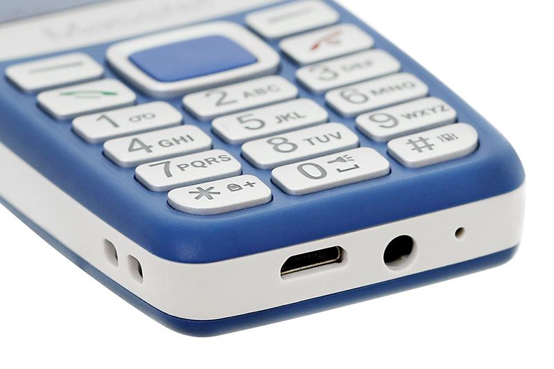 Masstel Izi 120   Cổng sạc Micro USB tiện dụng