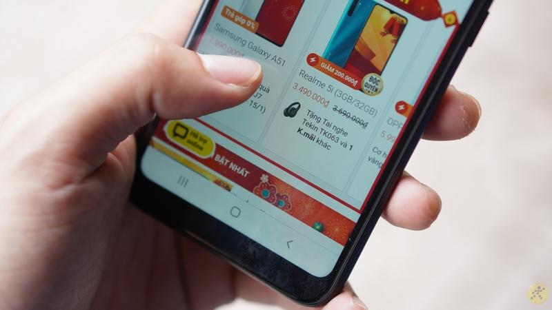 Điện thoại Samsung Galaxy A01 | Trải nghiệm thao tác