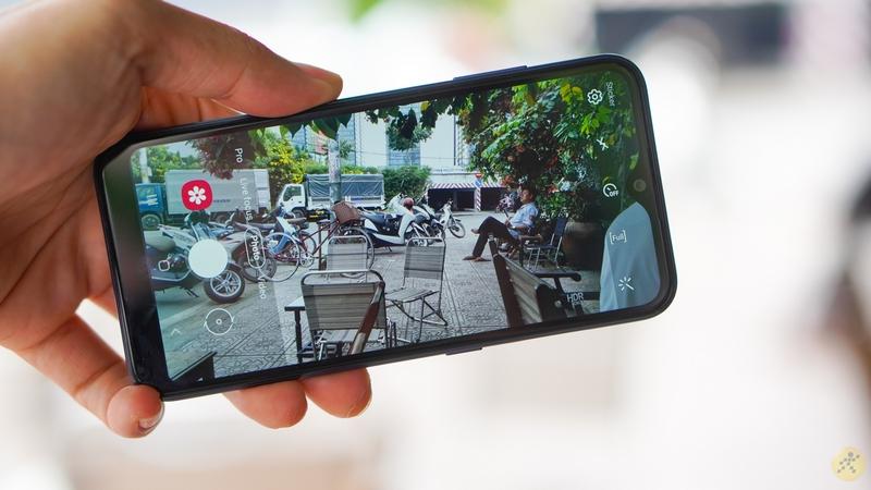 Điện thoại Samsung Galaxy A01 | Giao diện chụp ảnh